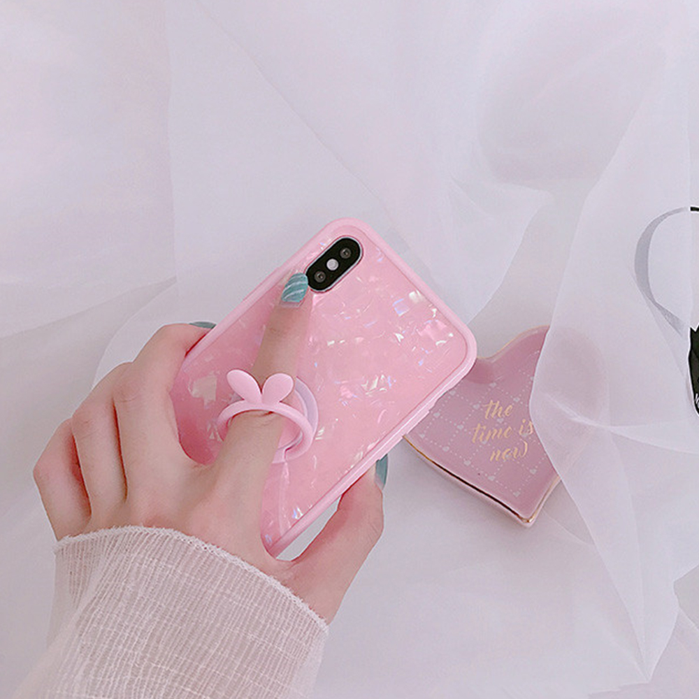Heyytle Kickstand Phone Stand Holder Cover For Apple iPhone X 8 7 6S 6 Plus Case Shell Cute Fantasy Soft TPU Back Cover Cases 7