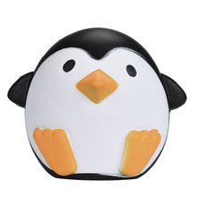 MUQGEW Cute Artificial Squishy Penguin Cream Scented Slow Rising Relieves Stress Anxiety Toy for Child Adult Anxiety Attention(China)