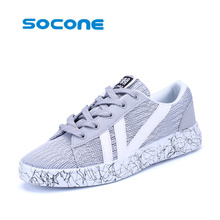 Men's brand sports shoes mesh breathable walking shoes women's white sneakers outdoor travel shoes