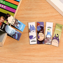 6 pcs/lot Cute Kawaii Totoro Paper Bookmark Creative Magnetic Book Markers For Books School Supplies Free Shipping 2455(China)