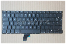 "New  For Apple Macbook Pro Retina 13"" A1502 Keyboard Replacement ME864 ME865 ME866 French FR  Laptop Keyboard"
