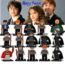 Harry Potter Figure Hermione Ginny Ron Weasley Lord Voldemort Draco Malfoy Luna Snape Building Blocks toys for children(China)