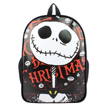 The Nightmare Before Christmas Backpack For Boy Girls Bags Jack Character Cartoon School Bag Student Bookbag