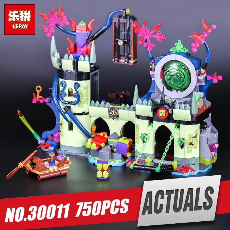 Lepin 30011 Genuine 750Pcs Creative Series The Breakout from the King`s Fortress Set 41188 Building Blocks Bricks Toy Boy`s Gift<br>