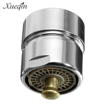 Brass One Touch Control Faucet Aerator Water Saving Tap Aerator Valve 23.6 22mm Bubbler Purifier Stop Water(China)