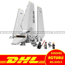 ZXS New LEPIN 05034 2503Pcs Star Wars Imperial Shuttle Model Building Blocks Compatible 10212 ship by DHL