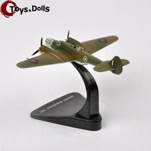 Atalas 1:144 Diecast Aircraft Airplane Model World War II RAF Martin Maryland 169 4646116 Fighter Model Airplane Kids Toys Gifts