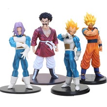 18-20cm Dragon Ball Z Action Figure Resolution of Soldiers VOL 2 Son Gokou Vegeta Hercule Trunks ROS DBZ Action Figuras Model
