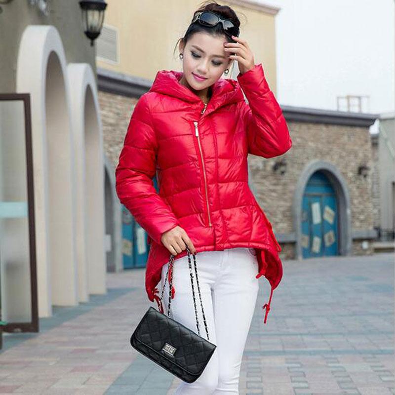 New 2017 Winter Women Coats Korean Fashion Slim Hooded Down Cotton Jackets Autumn Plus Size Womens Outwear Parkas Female JacketÎäåæäà è àêñåññóàðû<br><br>