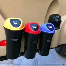 Car hanging trash cans car garbage bin built - in barrels quality ABS plastic material durable