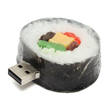 High Speed 4GB 8GB 16GB Seaweed Sushi Model USB 2.0 Flash Stick Memory Drive USB Data Transfer Thumb Storage For MAC Notebook PC(China)