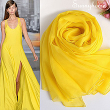 portugal jersey 2016100% pure silk scarf for women brand designer yellow scarves british style Classic shawls and pashmina(China)