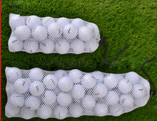 CBRL 100pcs/lot mesh cheap drawstring bag mesh laundry bag gift pouch custom 18*20cm golf ball bag for gift golf phone jewelry