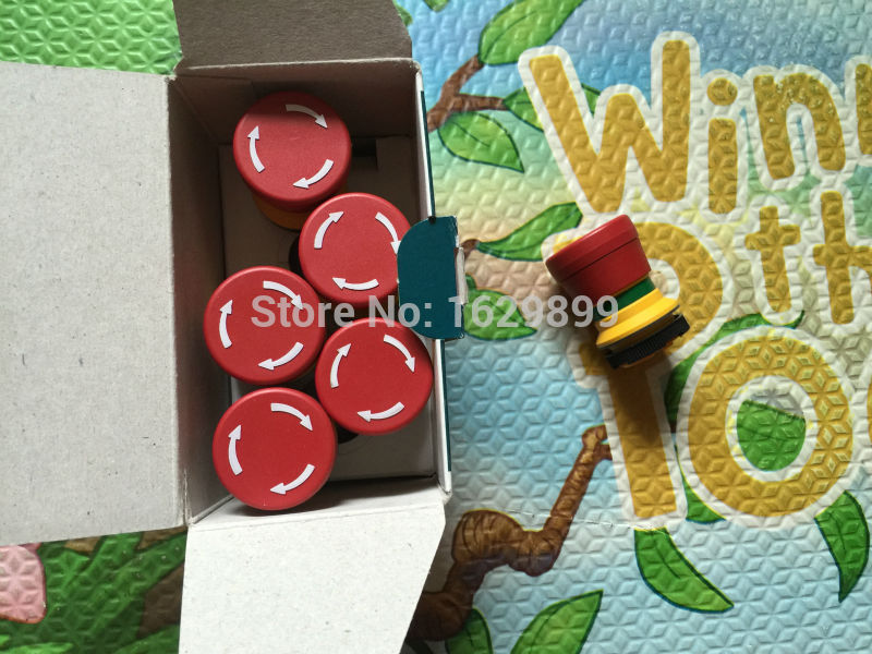 10 peices free shipping Emergency stop switch A1.144.9129 Emergency stop button for heidelberg 1.30.273.501/0300<br>