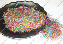 "50g-1mm(1/24"")Mixed Holographic Laser Colors Hexagon Glitter Paillette Spangle Shape for DIY Nail Art Decoration&Glitter Craft"