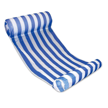New Premium Swimming Pool Floating Water Hammock Lounge Chair (Blue)(China)