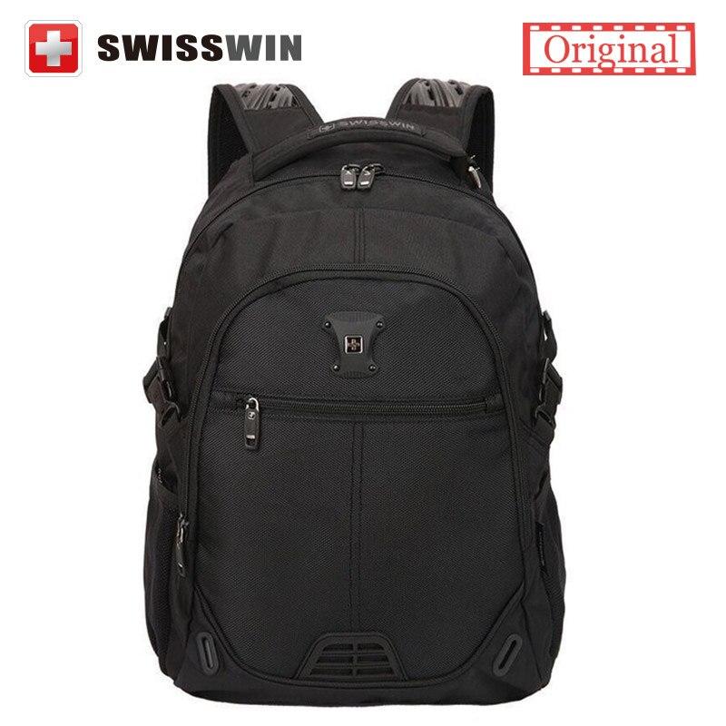 Swisswin Computer Backpack 15 Laptop Backpack for Students School Laptop Bag for teenage Boy SW9031 Black Blue 25l Male Bagpack<br><br>Aliexpress