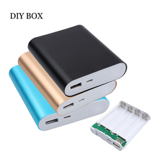 Colorful Hotest Universal USB 4X 18650 Battery Charger DIY Power Bank Box Case Kit For All Cell Phones