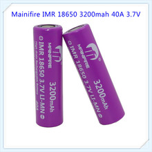 Best seller !1 pc Original 18650 IMR 3200mah 3.7V 40A High Drain Li-ion Rechargeable Battery(China)