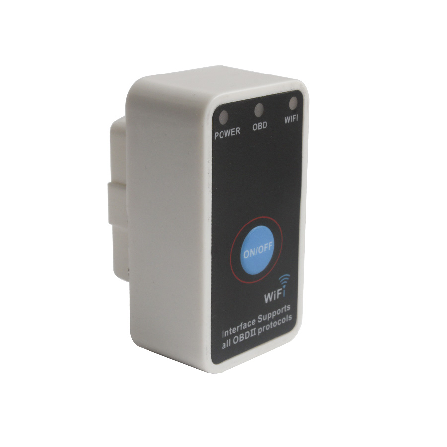 V2.1 Super Mini ELM327 WiFi With Switch Work With iPhone OBD-II OBD Can Code Reader Tool - SC157<br>