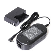 FW1S New Arrival AC Adapter Charger ACK-E15 + DR-E15 DC Coupler for Canon EOS 100D Rebel SL1(China)