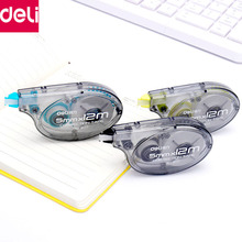 Deli Correction Type 6pcs/Set Correction Tape Roller Stationery 72m Long White Sticker Office School Study Tools(China)