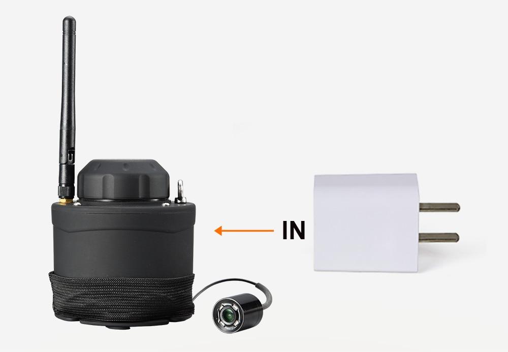 LUCKY Wifi Underwater Fishing Camera & Inspection 80m Wireless Operating Range Underwater Camera For Fishing FF3309 fishcam (6)