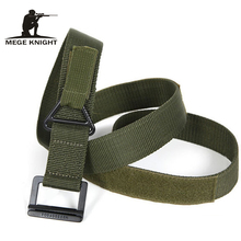 Hot Selling Top-quality Tactical Field Waistband Military Army Thicken Canvas Belt For Paintball Uniform Factory Direct