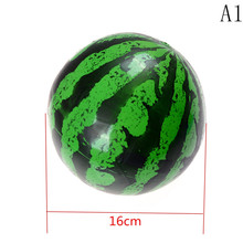 New Arrivel Kids Inflatable Ball Toy 16cm Plastic Ball Watermelon Ball PVC Ball Child Gifts High Quality Vivid Funny Hot Sell(China)
