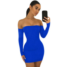 Buy Long Sleeve Shoulder Party Dresses Robe Sexy Vintage Black Mini Back Lace Dress Vestidos Women Club Bandage Bodycon Dress for $9.94 in AliExpress store