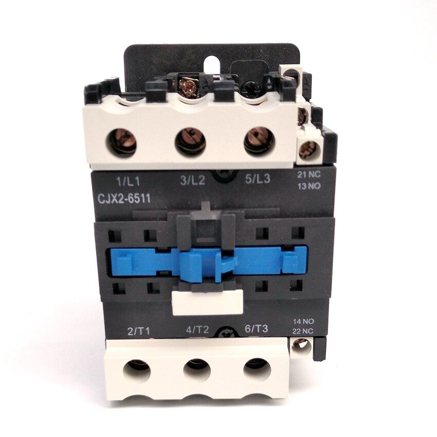 Original CHINT CJX2-6511  AC Contactor 1NO+1NC  65A Coil Voltage 380V 220V 110V 36V 24V LC1-D65 AC Contactor<br>
