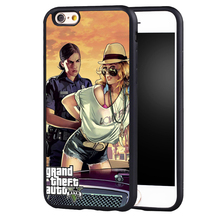 Sexy Grand theft auto GTA 5 V phone case cover for Samsung Galaxy s4 s5 s6 S7 edge S8 plus note 2 3 4 5(China)
