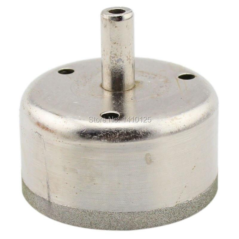 53mm Lapidary Super-thin Diamond Coated Core Drill Bit Hole Saw Masonry Drilling 0.6mm Rim Save Materials for Jasper Gems Agate<br><br>Aliexpress