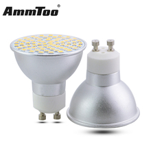 Dimmable GU10 LED Lamp 3W 5W 7W Led Spotlight Bulb 110V 120V 220V Aluminum Body Bombillas LED Light Decorative Night Light(China)