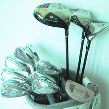New womens Golf Clubs Maruman FL complete clubs set Drive+fairway wood+irons Graphite Golf shaft and headcover Free shipping