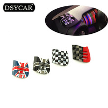 DSYCAR 1Pair Brand New British Style Car Interior Air Conditioner Outlet Vent Decoration Car Styling For BMW Mini Cooper F56/F55