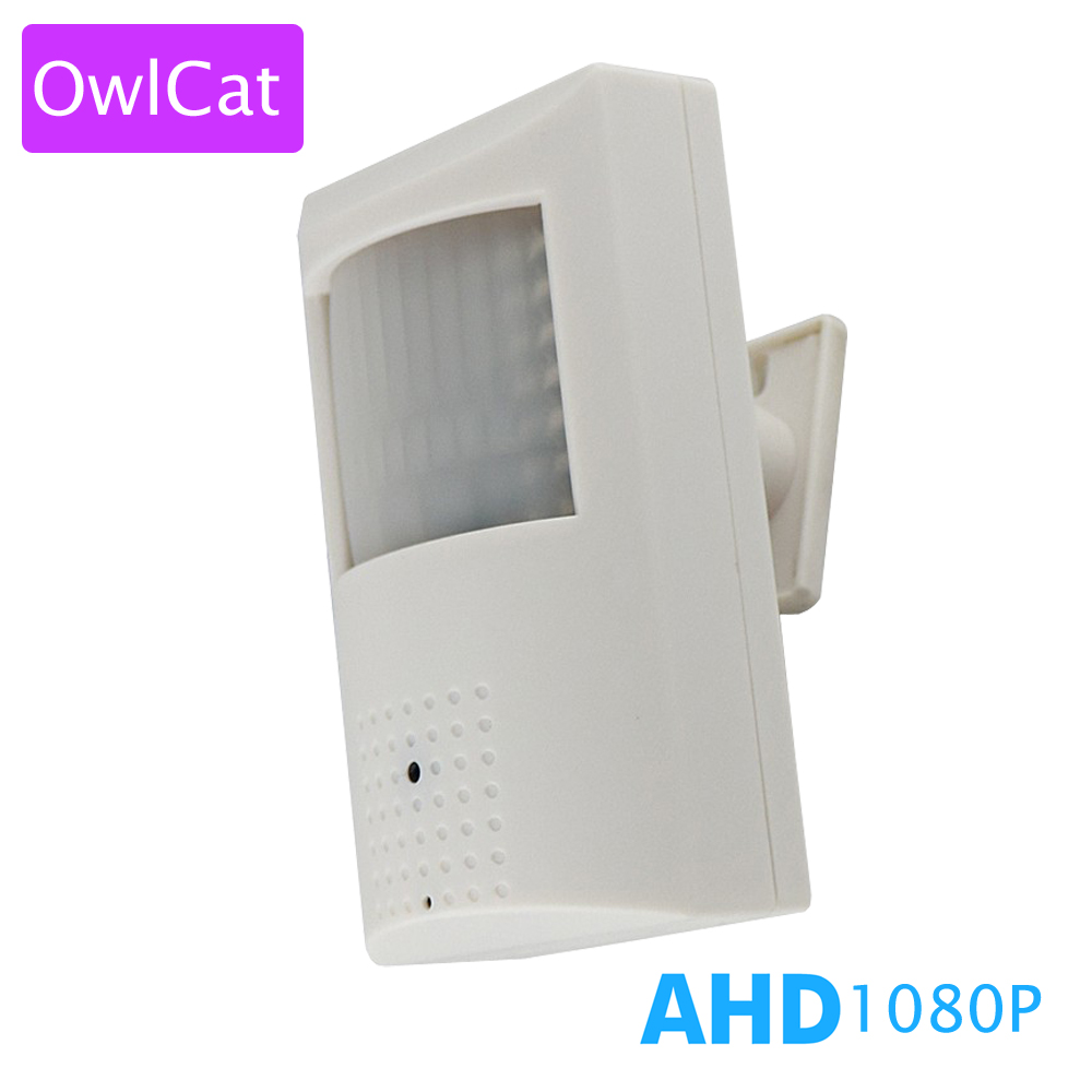OWLCAT Full HD 1080P 2.8mm Lens AHD CCTV Camera Video Surveillance Security Camera 2.0mp Infrared IR Night Vision Indoor<br>