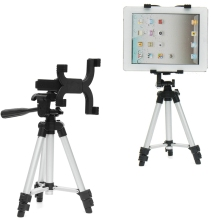 Adjustable Tablet Tripod Stand Holder For iPad Universal Tablet Holder Mount Stand For iPad Flexible Camera Tripod Stand holder(China)