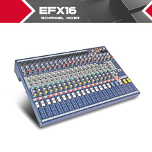 Highest quality!!! Soundcraft EFX16 Stage performances Mixer with Effects 110V-220V Voltage 16 channel mixer video karaoke mixer