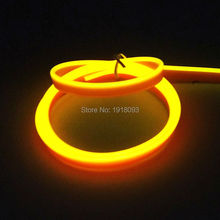 Buy High Flexible EL Wire LED Strip Tube Rope Flexible Neon Light 2.3mm-skirt 1 Meter Yellow Car Inside Decoration for $2.34 in AliExpress store