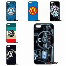 For Samsung Galaxy Note 2 3 4 5 S2 S3 S4 S5 MINI S6 Active S7 edge car volkswagen vw logo Hard Phone Case Cover Coque