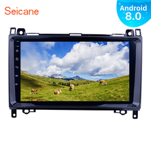 "Seicane 1Din 9"" Android 8.0 Car Radio GPS Multimedia Player VW Crafter Mercedes Benz Vito B150 B160 B170 B180 B200"