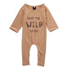 2017 Fashion Cool Infant Baby Boy Girl Warm Romper Jumpsuit Overall Clothes Outfits