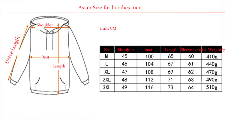 hoodies men 3d