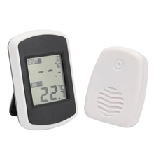 LCD Digital Wireless Thermometer Electronic Temperature Meter Weather Station Indoor Outdoor Tester(China)