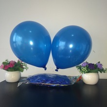 Hot sale blue balaoes 97-100pcs 10 inch 1.2g Latex balloon Helium Round balloons cheap balloons Wedding Party Birthday Balloons