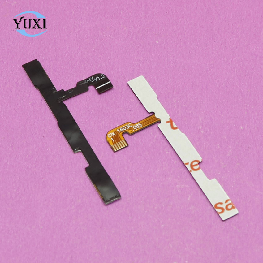 YuXi For Xiaomi Redmi Note 2 Side Power ON OFF Volume Key Button Switch Flex Cable Ribbon Replacement Repair Spare Parts