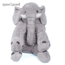 SPEELGOED Large Plush Elephant Plush Soft Toy Stuffed Animal Elephant Pillow For Baby & Kids Sleeping Toys For Children Baby(China)