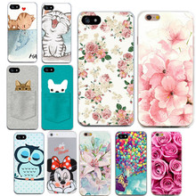 6 6S 7 5 5S SE Supper Popular Pattern Lovely Cat Silicon Phone Shell Cover For Apple iPhone 6 6S 7 5 5S SE Case Cases Fashion