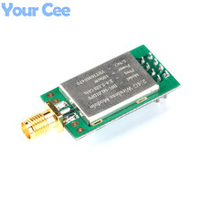 2 pc Long Range E01-ML01DP5 Ebyte 20dBm 2100m SPI NRF24L01+PA+LNA 2.4GHz RF Wireless Transceiver Module Antenna with Shield(China)